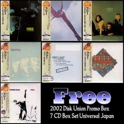 Free - Disk Union Promo Box (Japanese Mini-Lp Box-Set 7CD)