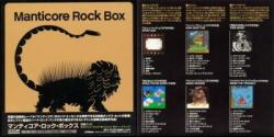 Manticore Rock Box / (6 Mini LP CD Box Set)