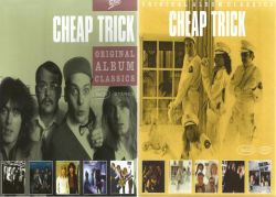 Cheap Trick - 2 Box Sets / 10 Albums (2008 Original Album Classics 5CD Box/2011 Original Album Classics (5CD Box Set)