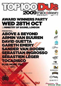 DJ Mag Top 100 Party - Live @ Ministry Of Sound, London