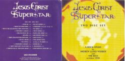 Рок опера Jesus Christ Superstar в постановке Эндрю Ллойд-Уэббера и Тима Райса на 2 CD. (1970)