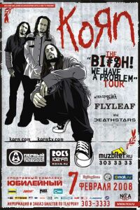 KoRn - Live at St.Peterburg (07.02.2008)
