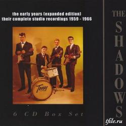 The Shadows - The Early Years . Their Complete Studio Recordings 1959-1966 (6CD Box Set)