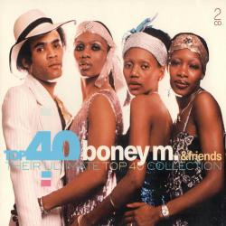 VA - Top 40 Boney M. Friends - Their Ultimate Top 40 Collection (2CD)